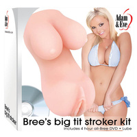 Adam & Eve Bree's Big Tit Stroker Kit